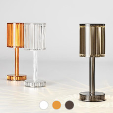 Vondom table lamp with rechargeable batteries Gatsby LED WHITE IP54 H 24.5 cm also for outdoor