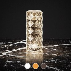 Vondom Table lamp with rechargeable battery Marquis LED WHITE 0.74W IP54 H 22 cm also for outdoor