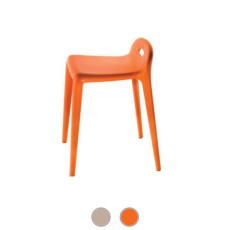 Magis Stool Yuyu Stackable H 60 cm, also for outdoor use