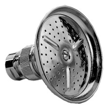 Paffoni Round molded metal shower head Ø 8.2 cm