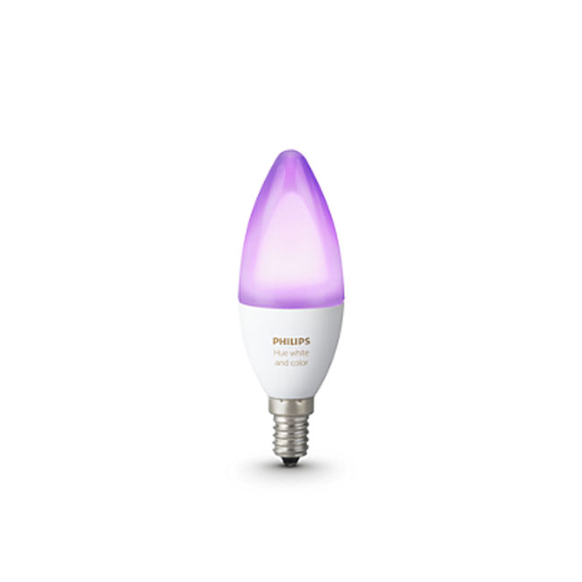Philips Hue White and Color Ambiance Bulb LED 6,5W Ø 3,9 cm 2200K-6500K RGB