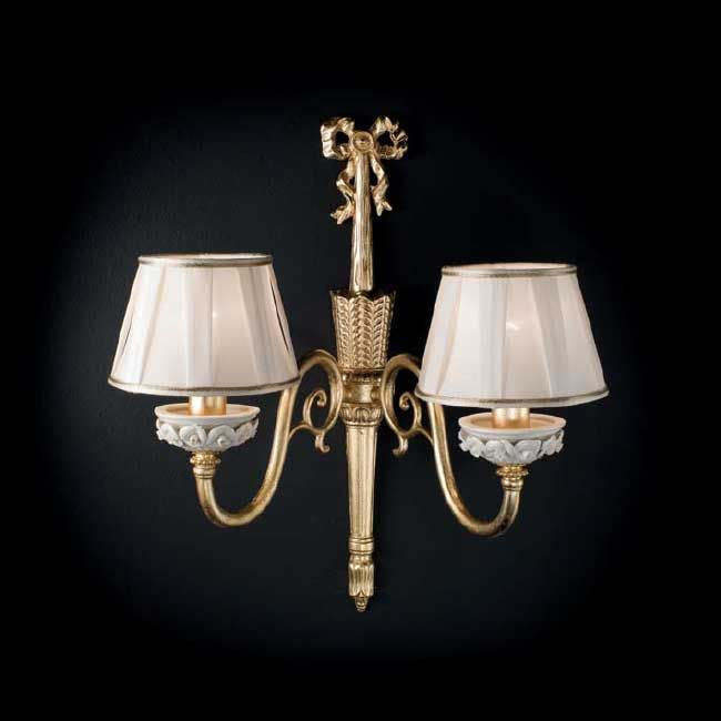 Limoges Wall lamp Fanny 2 lights E14 H 50 cm