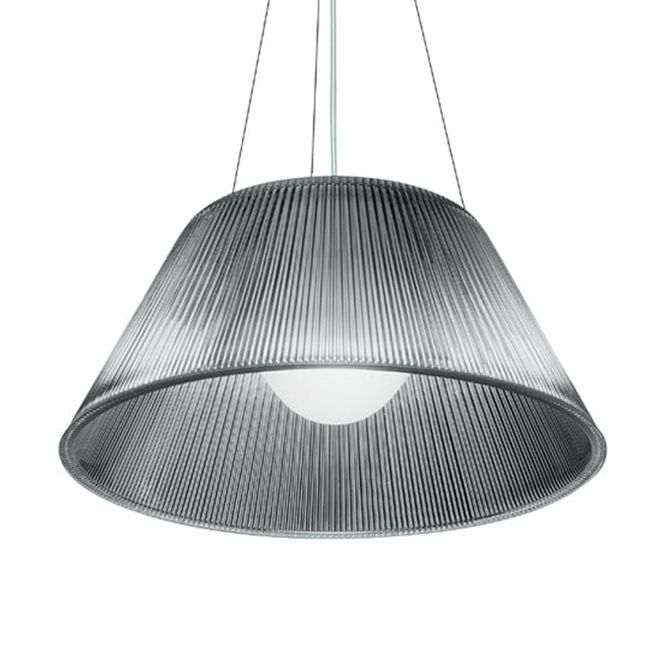 Flos Pendant lamp Romeo Moon S1 1 Light E27 Ø 34 cm