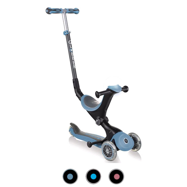 Scooter Bike without pedals Tricycle 3 wheels Globber GO•UP Deluxe