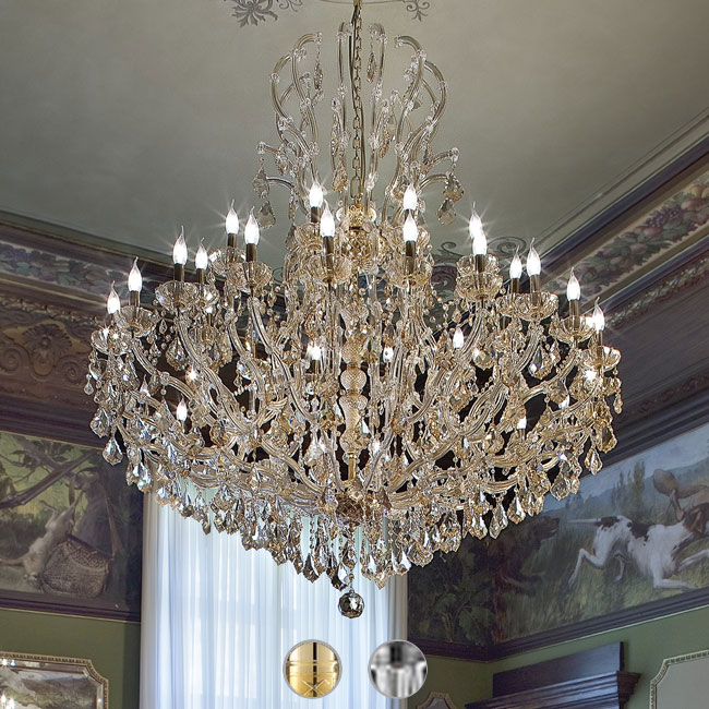Italamp Chandelier 5102 Ø 160 cm 36 Lights E14 Dimmable