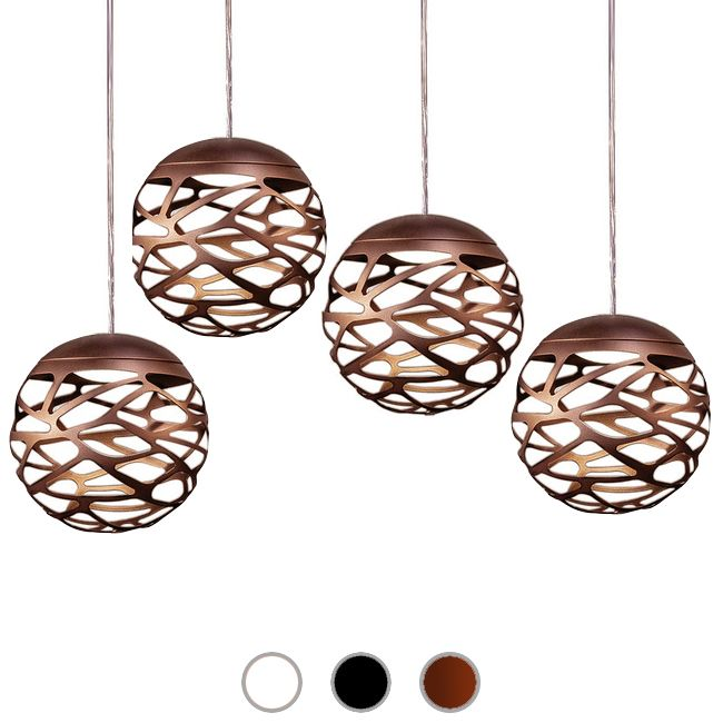 Studio Italia Design Pendant lamp Kelly Cluster Sphere LED 36W Ø 18 cm