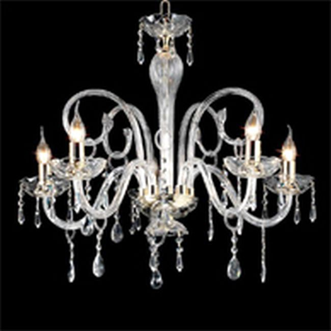 Crystal Chandelier Maria Teresa L6 Ciciriello 5 Lights E14 Ø 72 cm
