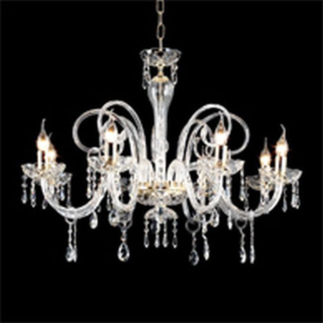 Crystal Chandelier Maria Teresa L6 Ciciriello 8 Lights E14 Ø 82 cm