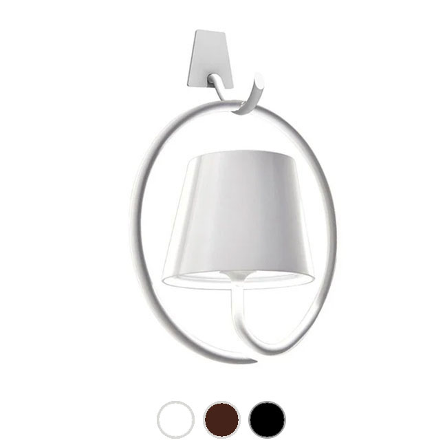 Ai Lati Lights Rechargeable battery-powered Applique Poldina LED 2.2W IP54 H 14 cm also for the outdoor - Dimmable