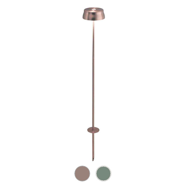 Ai Lati Light Floor lamp with spike Sister Light 3W H 56/106 cm Dimmer For indoor and outdoor use