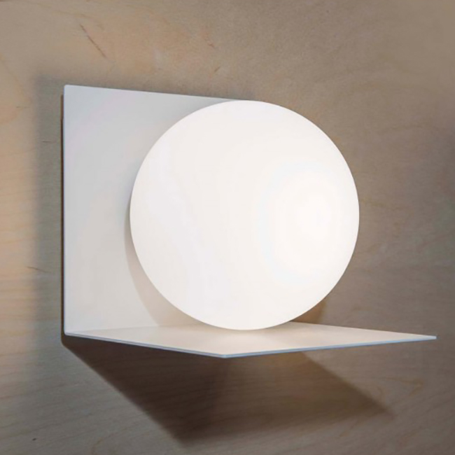 Marchetti Wall lamp Balance E14 L 15x15 cm 1 light