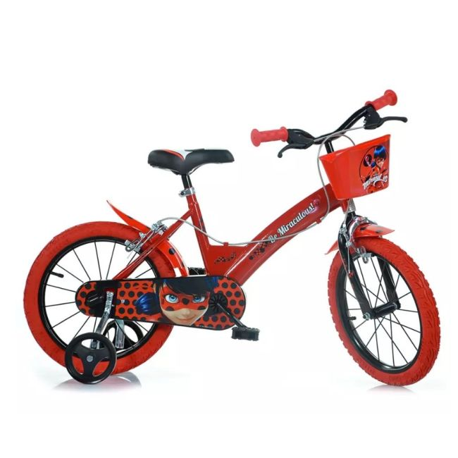Bicycle for Children 16'' 2 Brakes Miraculous