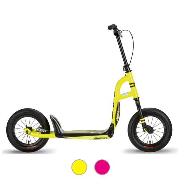 "SCOOTER FOR CHILD 12"" URBAN CROSS-OVER WITH BRAKE DINO BIKE"