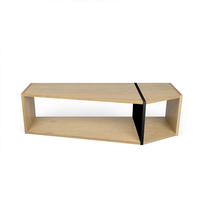 Temahome One Modular bookcase L 120cm