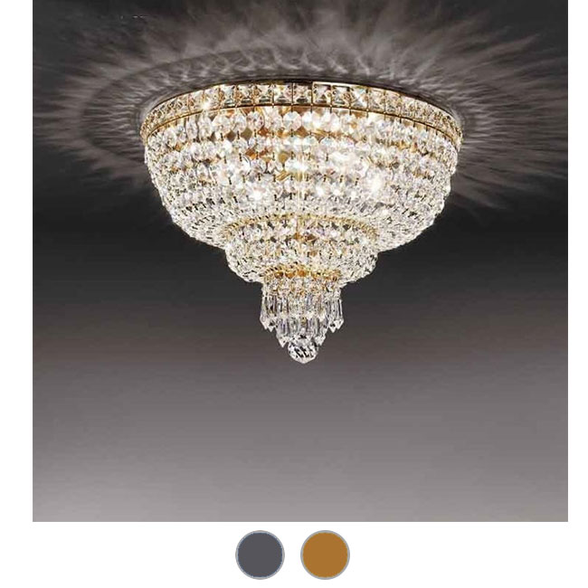 Empire Beethoven Ceiling Lamp Ø 60 cm Voltolina Style E14 lights