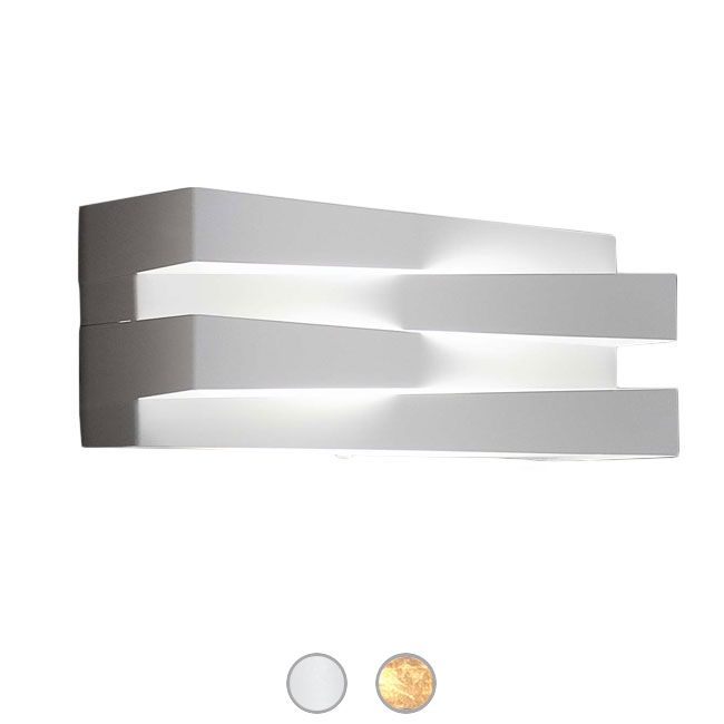 Panzeri Cross Wall lamp LED 20W L 30 cm Dimmable