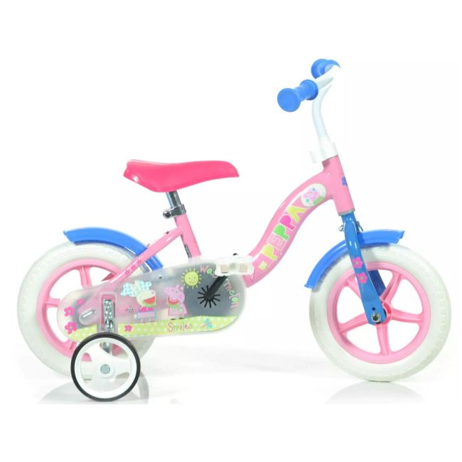 Bicycle for Children 10''  Brakeless Peppa Pig