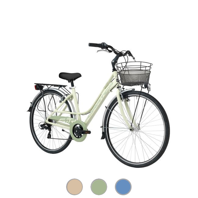 Bicycle for woman 28'' H 45 cm Cicli Adriatica Sity3 6V Lady