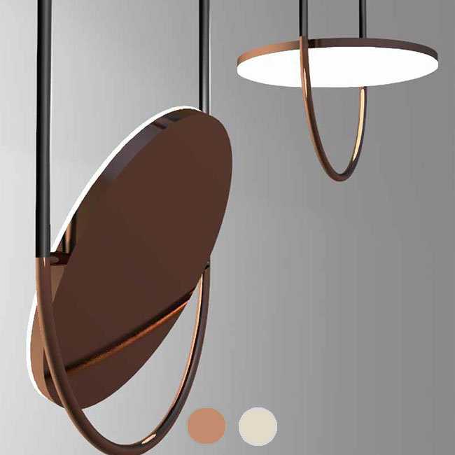 Sillux Pendant lamp Giotto LED 14W H 89 cm