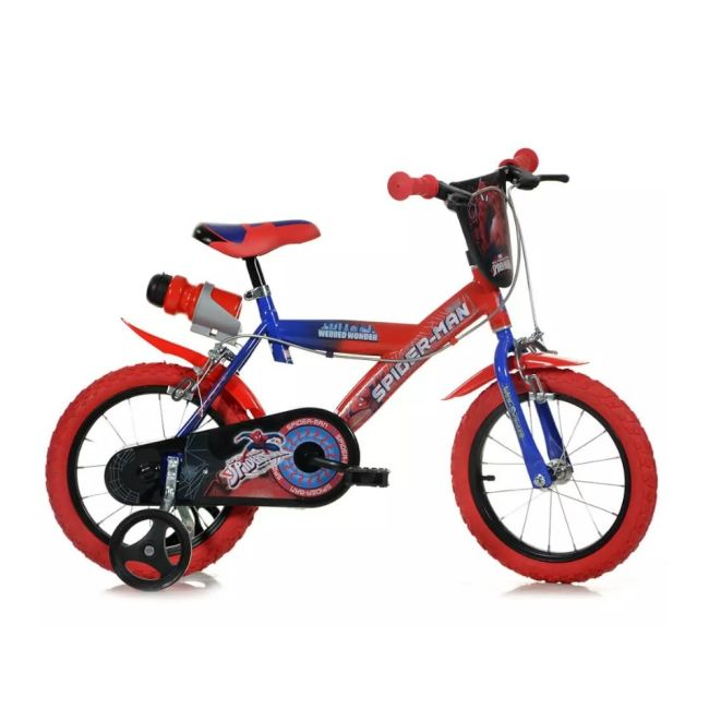 Bicycle for Children 14'' 2 Brakes Spiderman
