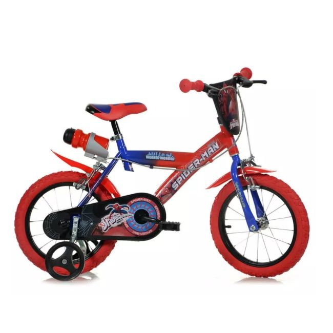 Bicycle for Children 16'' 2 Brakes Spiderman