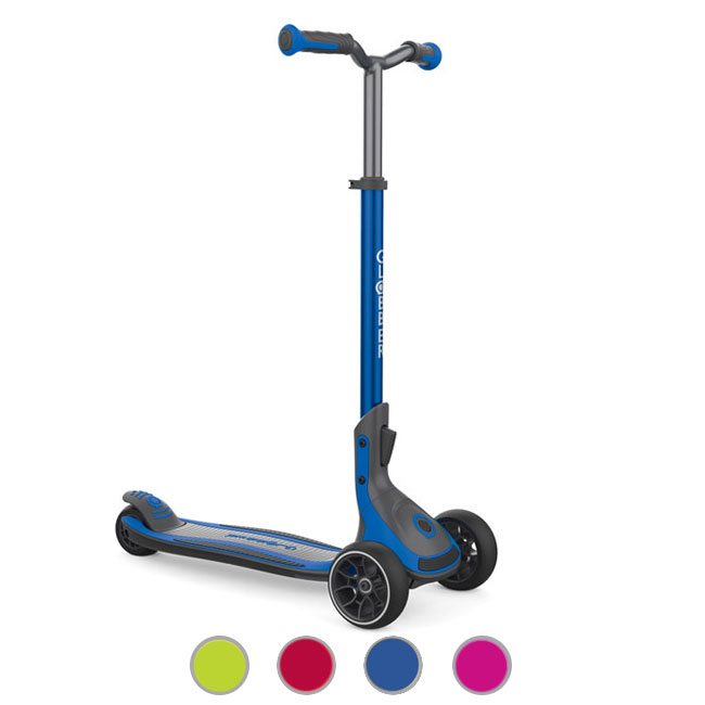 Telescopic and Foldable 3 Wheel Scooter Globber Ultimum