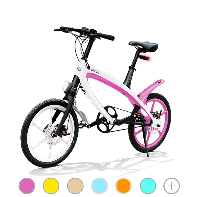 E-City Bike V-ITA E-Light with Bluetooth technology Masterpieces Full model