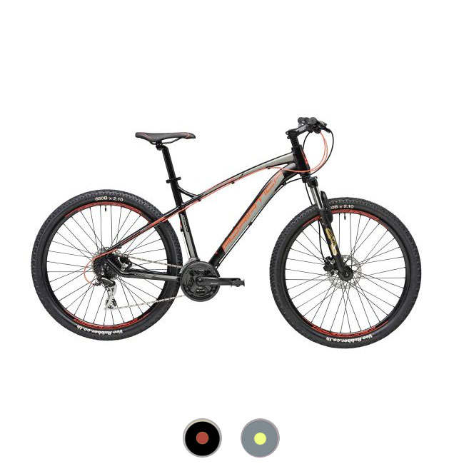 Bicycle MBT Boy 27.5'' H 39 - 44- 48 cm Cicli Adriatica WING RS 27.5